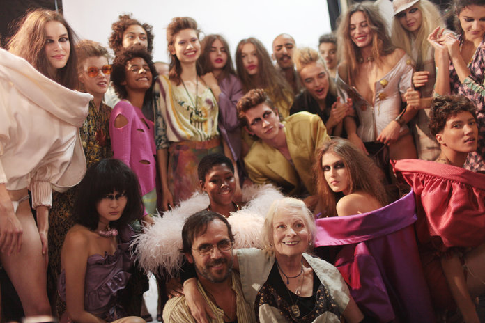 Ants, Penises and Messy Lipstick - The Wacky Beauty Look At Vivienne Westwood
