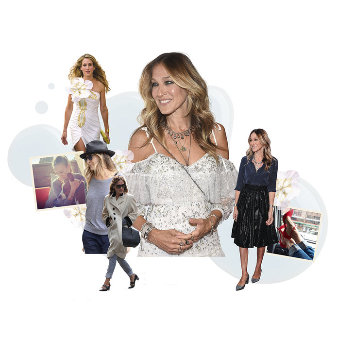 Sarah Jessica Parker On Carrie's Shoes, Curly Hair And At-Home Pedis