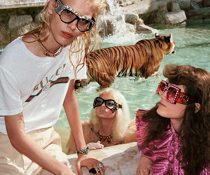 The 14 Most Bizzare Moments From The Gucci Spring 2017 Campaign