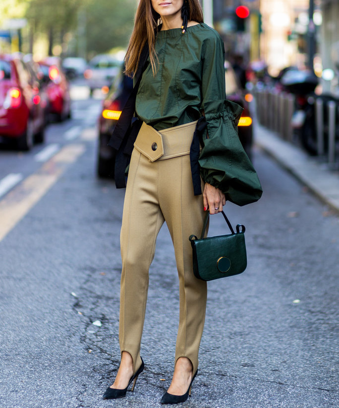 6 Street Style Looks That Will Convince You To Wear Stirrup Pants Right Now