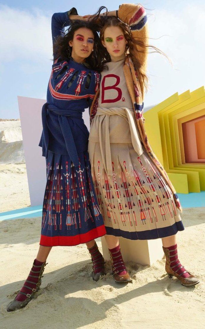 The Benetton Comeback? Why This Stella Jean Collab Has Put It Back On The Fashion Map