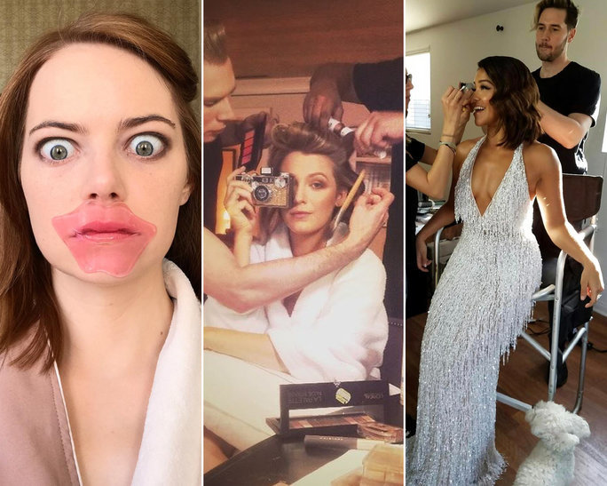 The Best Celebrity Instagrams From The 2017 Golden Globes