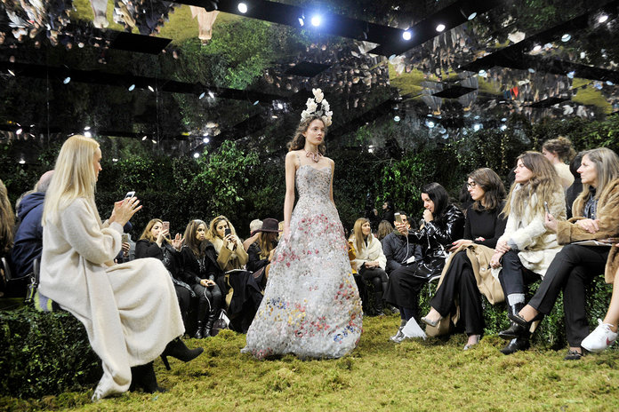 Banish The Blues By Being Our Guest At Dior's Fairytale Couture Show