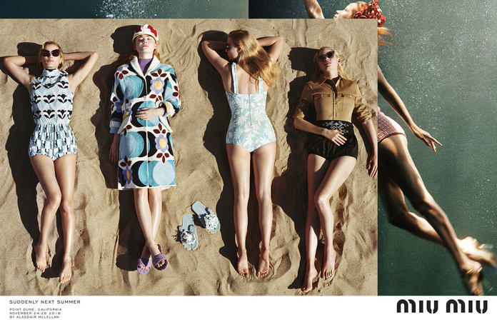 The Miu Miu Campaign That's Making Us Want To Book A California Road Trip