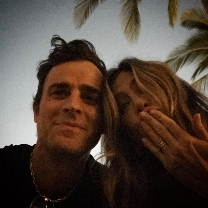 Justin Theroux Expressed Birthday Love For Jen With A Rare Selfie