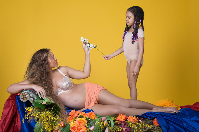 Have You Ever Seen Anything Like Beyonce's Pregnancy Shoot? No, Us Neither
