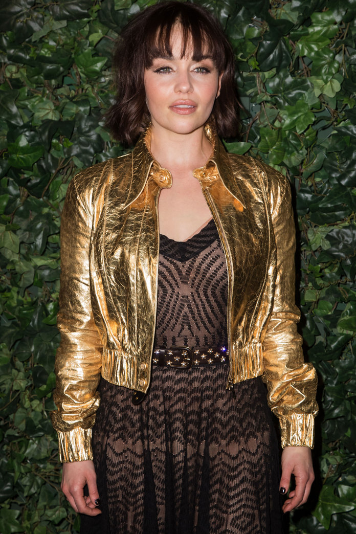 Emilia Clarke Just Got A Fringe And We Can't Stop Talking About It