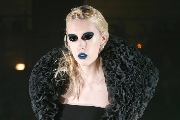 Blue Lips At Pugh: The Out-There Beauty Moment LFW Was Waiting For