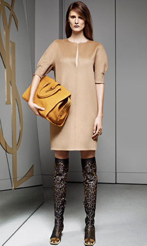 Yves Saint Laurent Pre-Fall Collection 2012