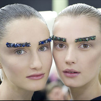 Backstage Beauty At Fashion Week Autumn Winter 2012