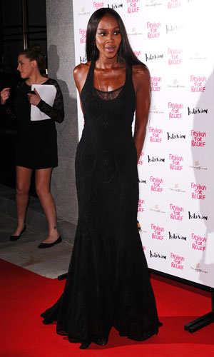 Celebs Hit The Fashion For Relief Charity Dinner