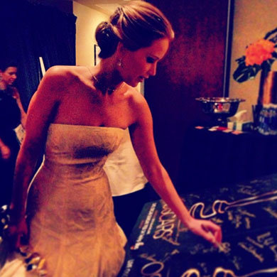 Behind The Scenes At The Oscars 2013