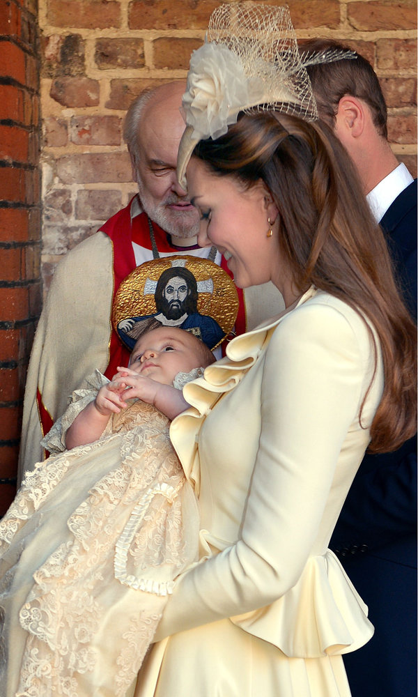 Prince George's Christening: All The Pictures