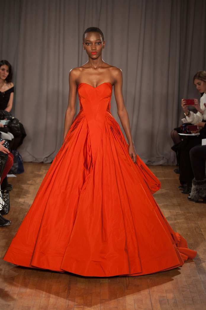 Zac Posen AW14, New York Fashion Week