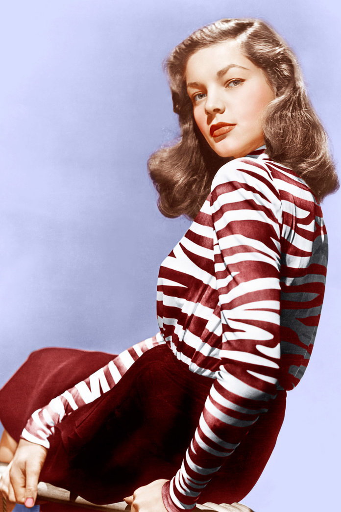 Lauren Bacall: A Very Stylish Tribute