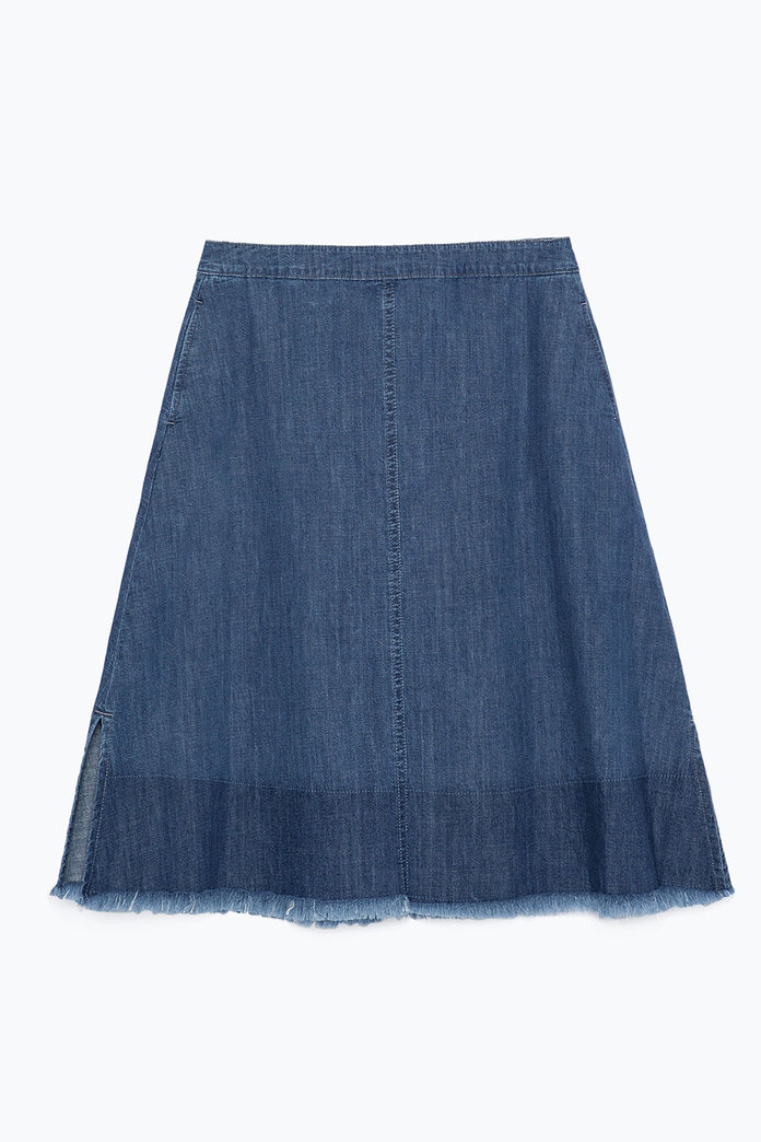 Denim Skirts: The InStyle Round-Up