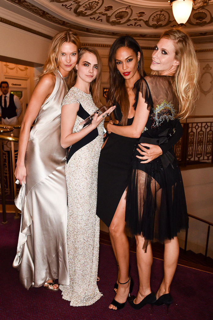 British Fashion Awards 2014: The Behind The Scenes Pics You'll Want To See