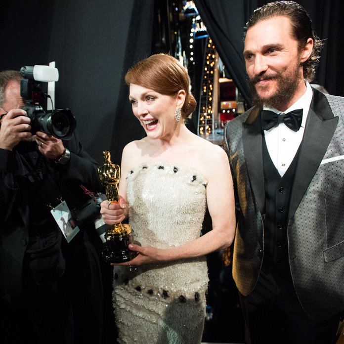 Oscars 2015: The Backstage Shots That Sum Up The Evening...
