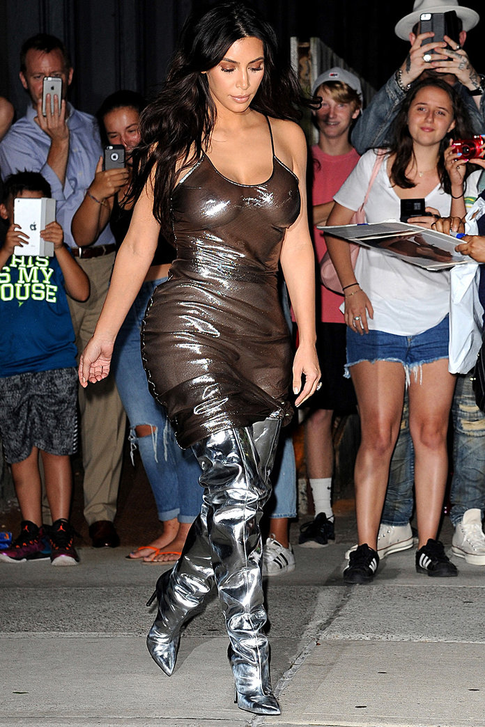 Kim Kardashian's (Dramatic) Style Transformation In Pictures