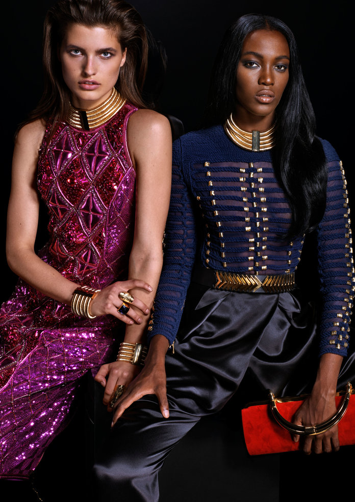 Balmain x H&M: Every Single Piece From The Sparkle-Heavy Collection
