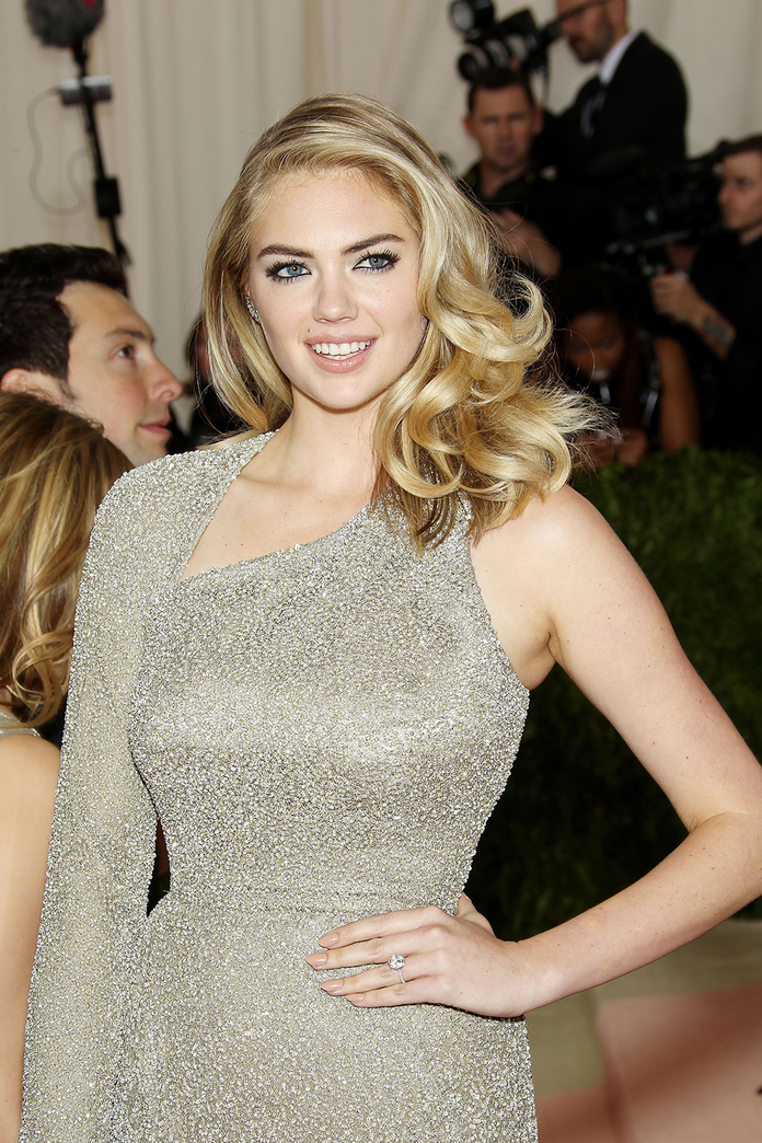 Kate Upton: And The Bride Went… Nude (Practically!)