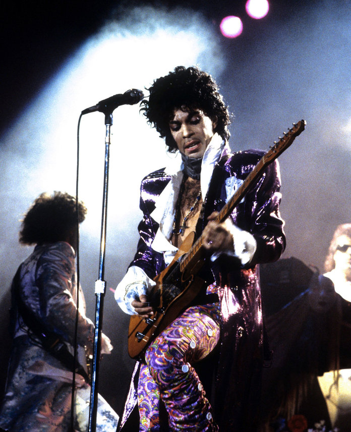 Prince: The Legend And His Legacy In Pictures #PurpleReign