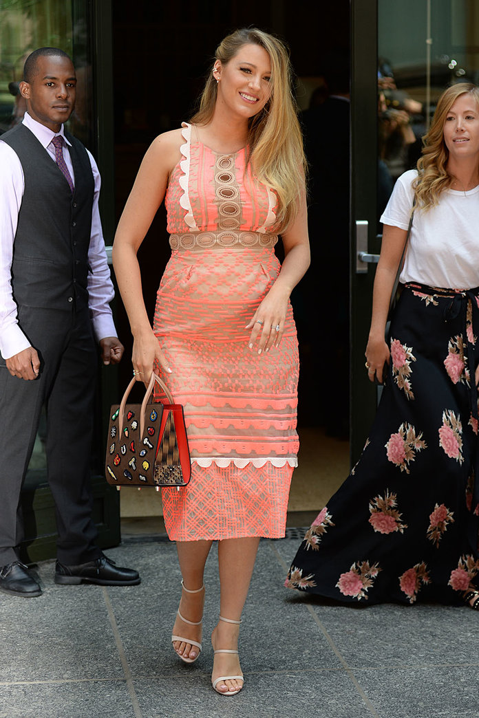 Blake Lively's Maternity Style File (Aka A Lesson In How To Dress Your Bump)