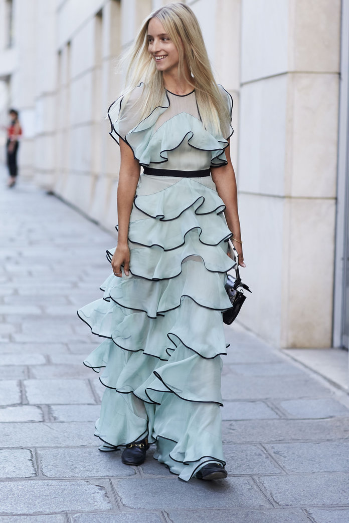 10 Ruffle Dresses For Doing A 'Smart Casual' Dress Code The Cool Way
