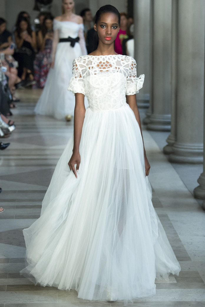 Wedding Dress Inspiration We've Taken From The SS17 Shows