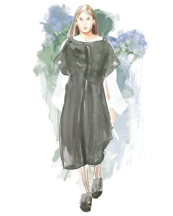 The Best Of London Fashion Week, Illustrated