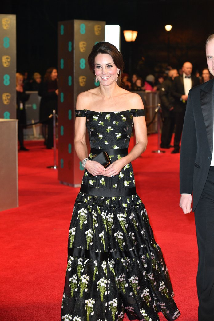 BAFTAs 2017: Kate Middleton And Emma Stone Lead The Best Dressed
