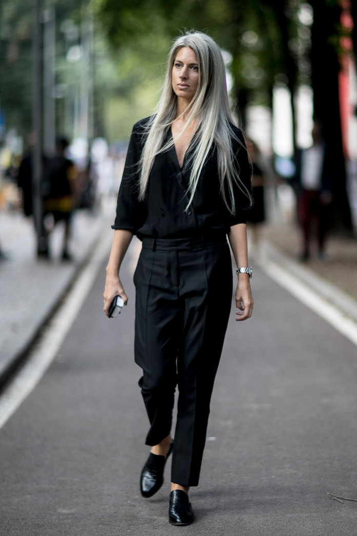 milan fashion week the best street style looks from the show goers. Black Bedroom Furniture Sets. Home Design Ideas