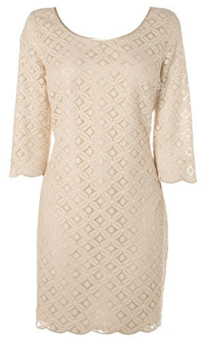 Back detail shift dress, was £55, now £35, Lipsy