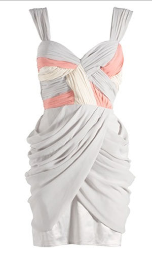 Grecian cross over dress, was £65, now £40, Lipsy