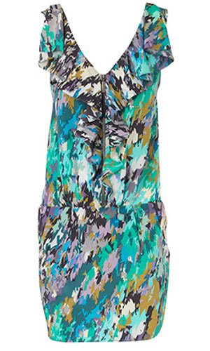 Crystal print tunic, was £55, now £30, Oasis