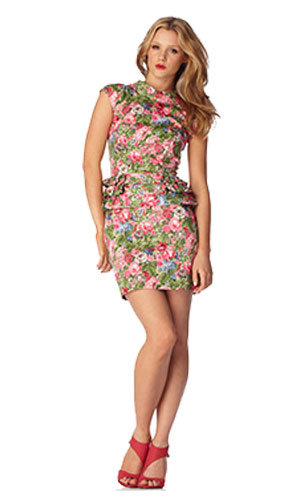 Floral frill dress, was £39.99, now £25, River Island