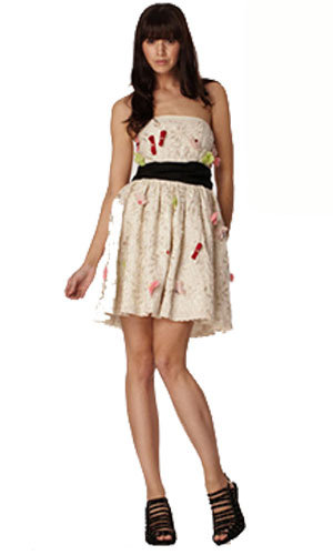 Embellished prom dress, was £99.99, now £40, River Island