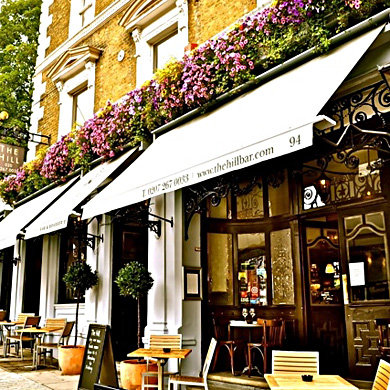The Hill Bar and Brasserie, London