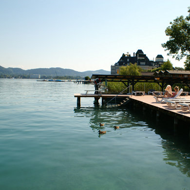 The FX Mayr Clinic, Woerthersee, Austria