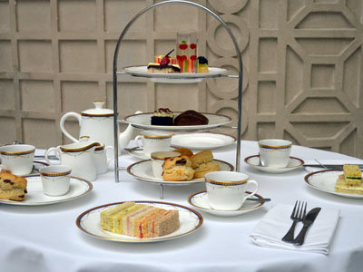 The Royal Crown Derby Afternoon Tea at the Waldorf Hilton Hotel