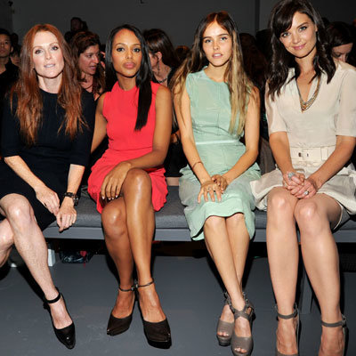 Julianne Moore, Kerry Washington, Isabel Lucas and Katie Holmes