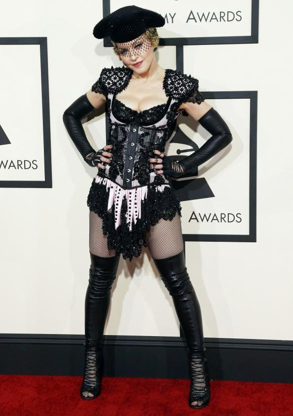 Madonna at 2015 Grammys