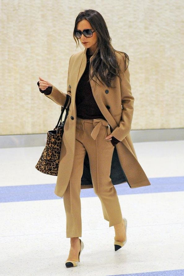 e526e15b3 How to Wear a Camel Coat - Celebrities in Camel Coats | InStyle.com