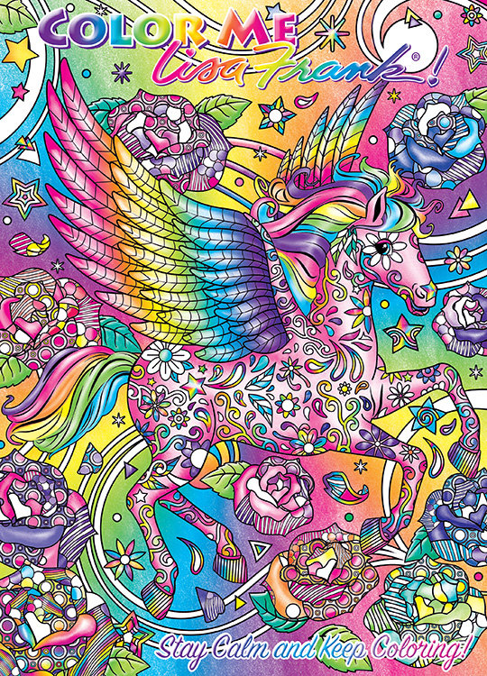 Lisa Frank Adult Coloring Books Exist And We Re Psyched