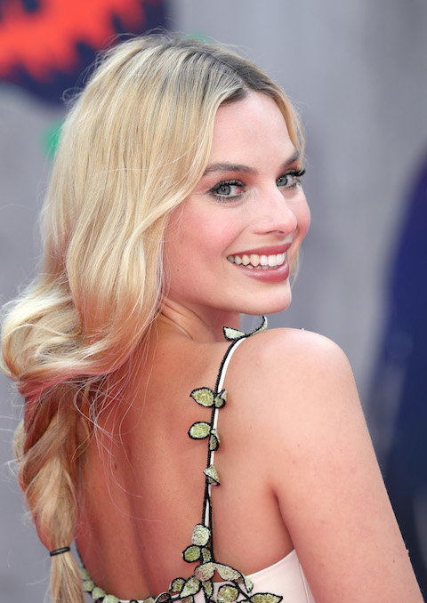 LONDON, ENGLAND - AUGUST 03:  Margot Robbie attends the European Premiere of  Suicide Squad  at the Odeon Leicester Square on August 3, 2016 in London, England.  (Photo by Chris Jackson/Getty Images)