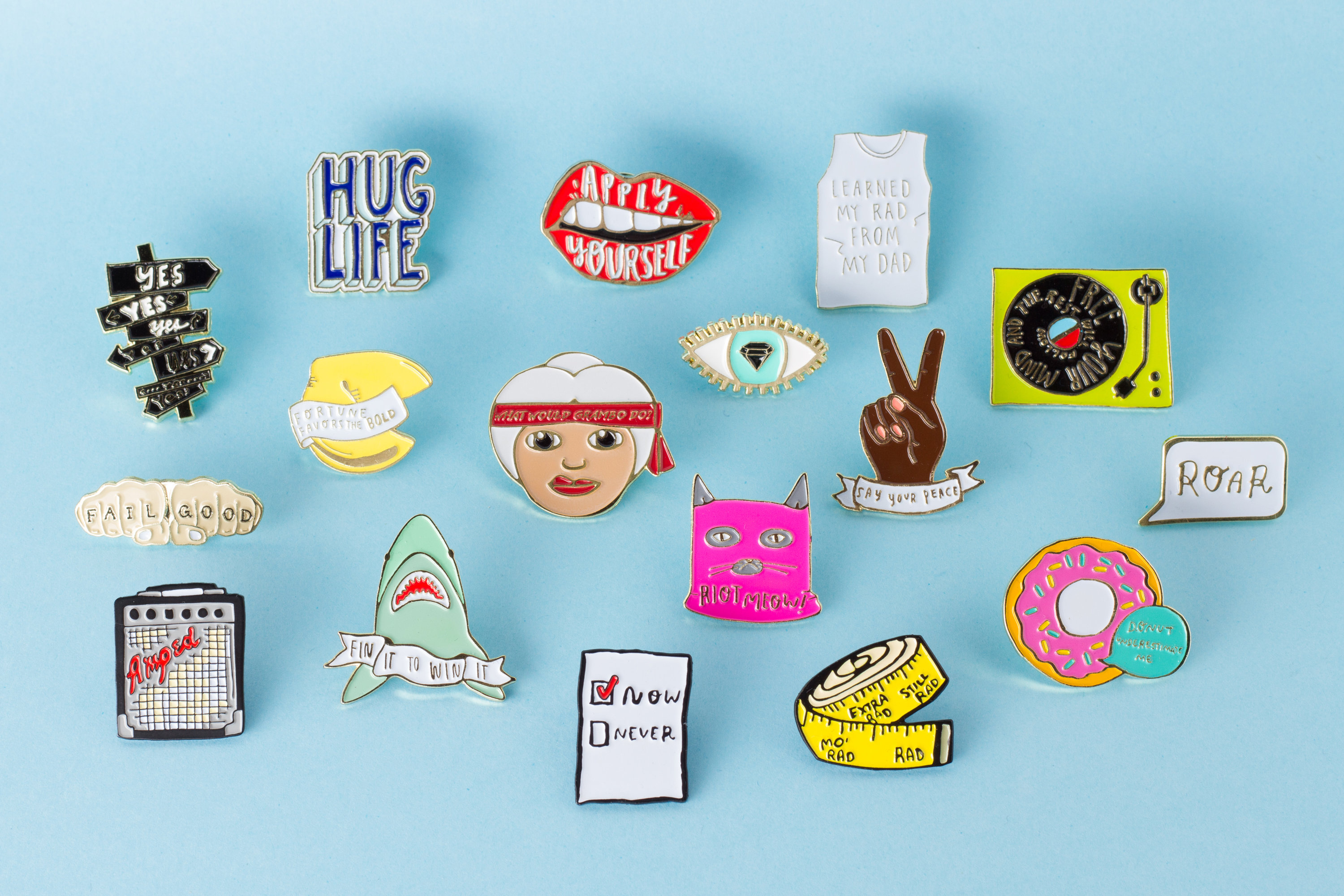 Wildfang Pin Collab - Pin Embed