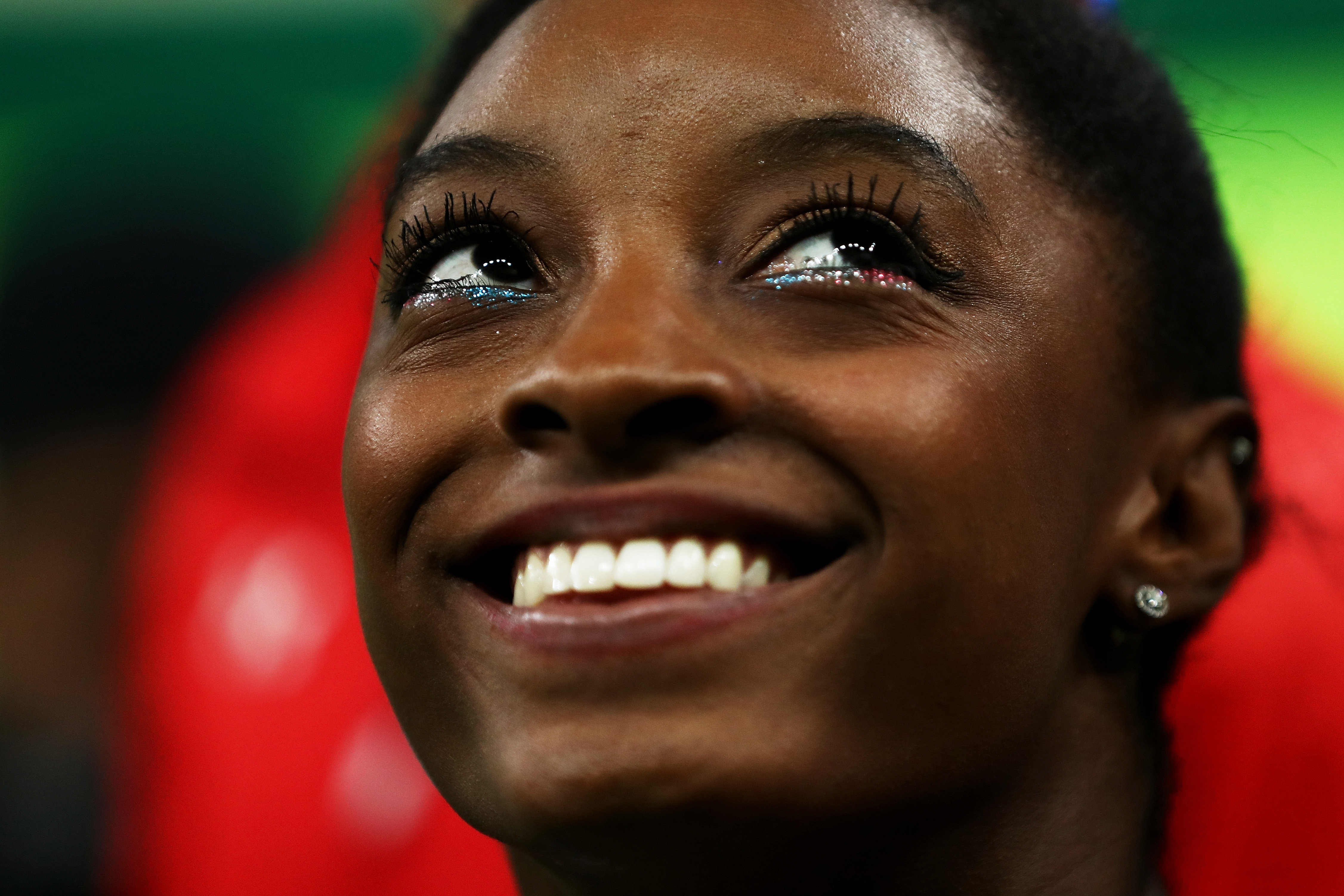 during the Artistic Gymnastics Women's Team Final on Day 4 of the Rio 2016 Olympic Games at the Rio Olympic Arena on August 9, 2016 in Rio de Janeiro, Brazil.
