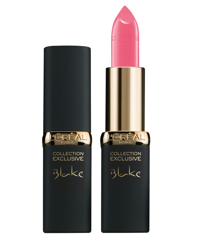 Blake Lively Pink Lipstick - Embed