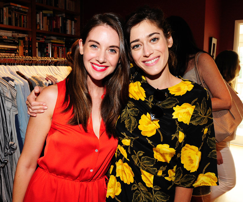 Day of Indulgence Lizzy Caplan Alison Brie - Embed 2016