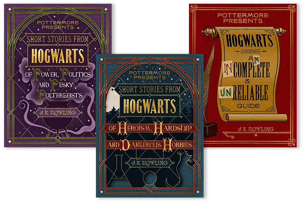 Pottermore Harry Potter Covers - Embed 2016
